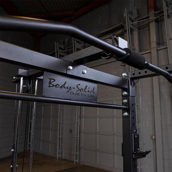 Body-Solid Power Rack GPR400 + GLA400 Lat Machine