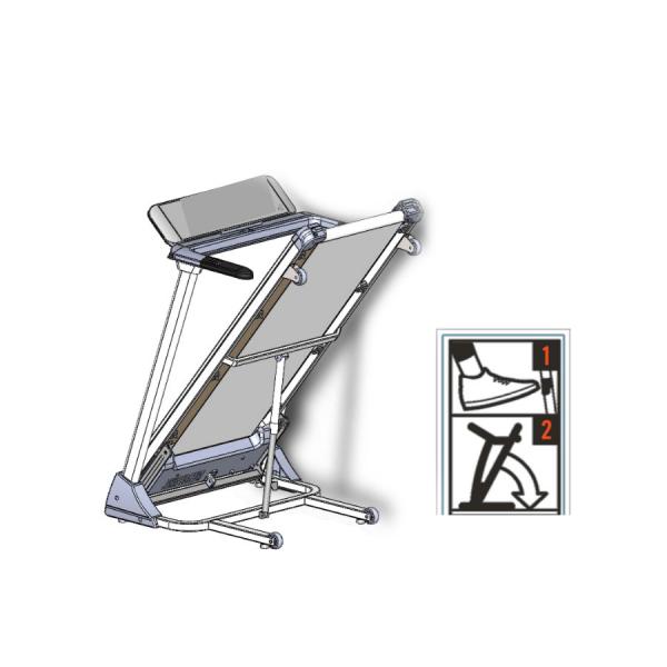 Horizon T-R01 Tapis Roulant (Pronta Consegna)