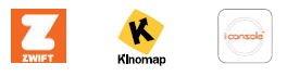 APP ICON ZWIFT + KINOMAP